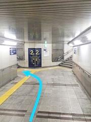 阪急「大宮駅」2