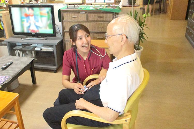 訪問看護ステーションとの医療連携イメージ